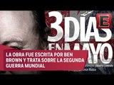 Luis Miguel Lombana y José Carlos Rodríguez presentan la obra '3 días en Mayo'