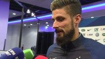 Foot - Amical - Bleus : Giroud «On a commencé un peu timidement»