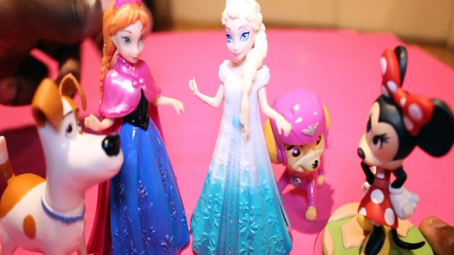 Toy MINNIE MOUSE GOES EVIL SPIDERMAN SAVES THE DAY + ELSA MAX TSLOP SKYE PAW PATROL ANNA FROZEN