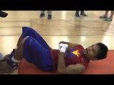 pacquiao vs algieri - Insane Manny Pacquiao Abs Workout in china - esnews boxing