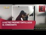 Salma Hayek y Eugenio Derbez en divertida promoción de Cómo ser un Latin Lover