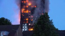 A huge fire has engulfed a 27-storey block of flats in Grenfell Tower fire, London