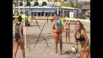 Beach volley in Torremolinos