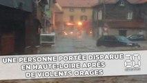 Une personne portée disparue en Haute-Loire après de violents orages