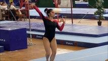Gymnastics Dália Al-Salty Nice Floor Routine