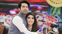 Fabiha Sherazi with Fahad Mustafa in jeeto pakistan photos collection