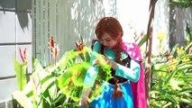 Spiderman Frozen Elsa kiss Frozen Anna Spiderman Cry Gym Prank Elsa Married Alien Funny Superhero