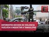 Nuevos enfrentamientos y persecuciones en Reynosa dejan al menos dos muertos