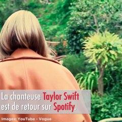 Taylor Swift is back sur Spotify, yesssss