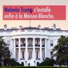 Melania Trump va enfin rejoindre Donald à la Maison-Blanche