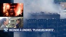 """Incendie à Londres: """"On a entendu des enfants demander à l'aide"""", raconte un témoin"""
