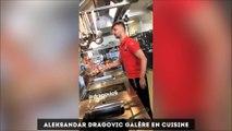 Les féminines de l'OL remportent la coupe d'Europe, Dragovic en mode cuistot