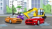 Tractor - Carros para niños - el Pequeño Camiones - Carritos infantiles - Videos para niños!