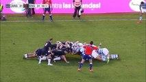 Incroyable mêlée de 20 secondes entre l'Argentine et l'Angleterre !!!