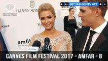 Cannes Film Festival 2017 - Amfar ft.Paris Hilton & Maria Mogsolova - Part 8 | FashionTV