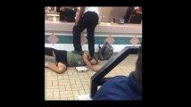 Un client de Burger King se fait violemment frapper puis taser par les employés (Vidéo)