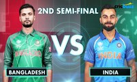 Champions Trophy 2017 Semi-final Preview- Bangladesh vs India at Edgbaston