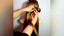 Hairstyles for long hair tutorial _ Bridal updo, mermaid braid Braided hairstyle tutorial