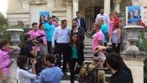 Législatives : Castaner vient soutenir Poirson (LREM) à Carpentras