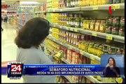 Conozca los beneficios de aplicar el sistema del Semáforo Nutricional en los alimentos