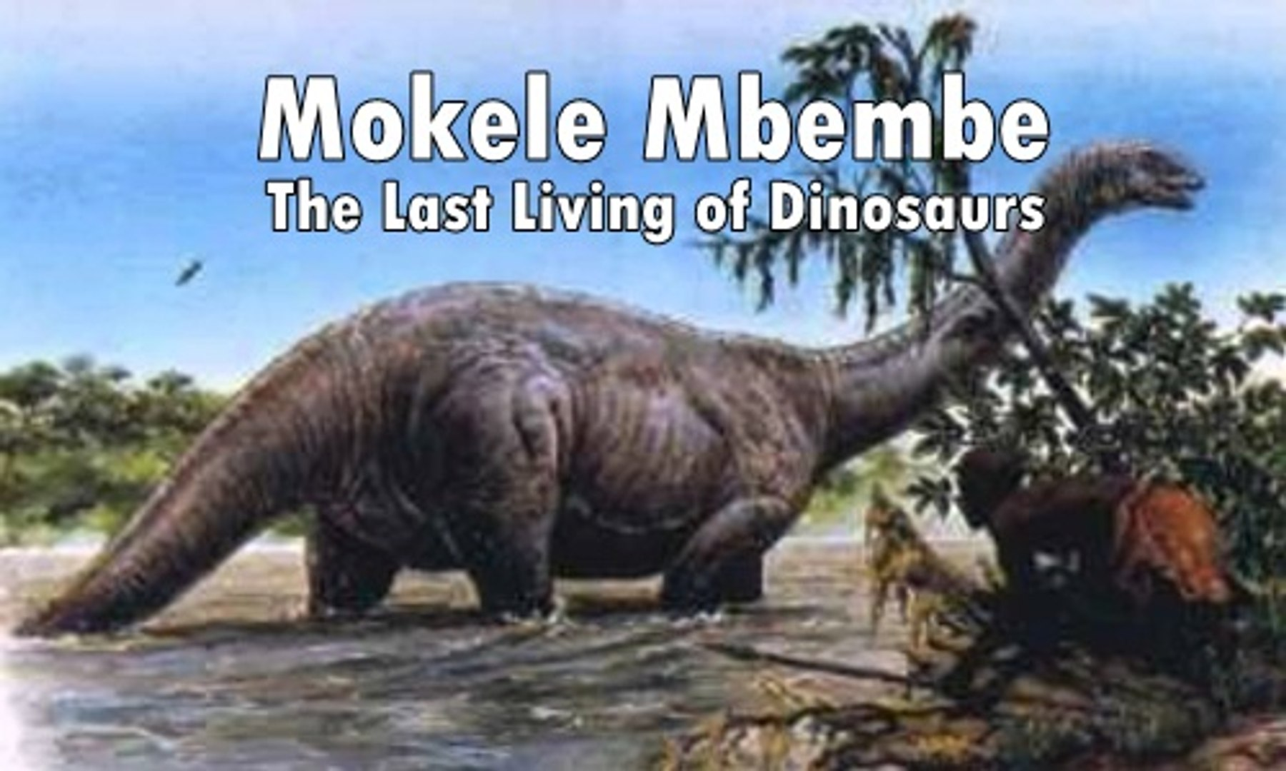 Mokele Mbembe - The Last Living of Dinosaurs