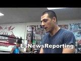 trainer talks ruslan vs castillo and ruslan vs matthysse EsNews