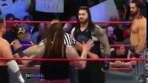 WWE Raw 8 june 2017 Raw Roman Reigns vs Bray Wyatt & Samoa Joe Raw, WWE Raw 2 ju