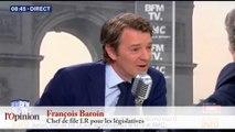 François Baroin croyait que «François Fillon allait renoncer à sa candidature» au Trocadéro