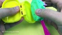 Crème bricolage géant de la glace sucette jouer pâte à modeler sucettes glacées arc en ciel langue Doh 6 playdough