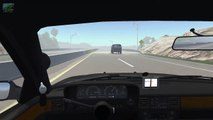 Beamng drive   Police Chase Fails №2, Crashes, Roadblocks (high speed cras