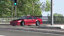 Beamng drive   Police Chase Fails, Crashes, Roadblocks (high speed cras