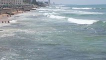 Galle Face Beautiful Beach Colombo Srilanka in