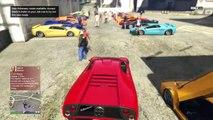 Online Car Meet In GTA 5 - Infernus Vs Infernus Class