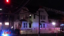 Belleville Fire Department 2nd Alarm House Fire 103 Union Ave