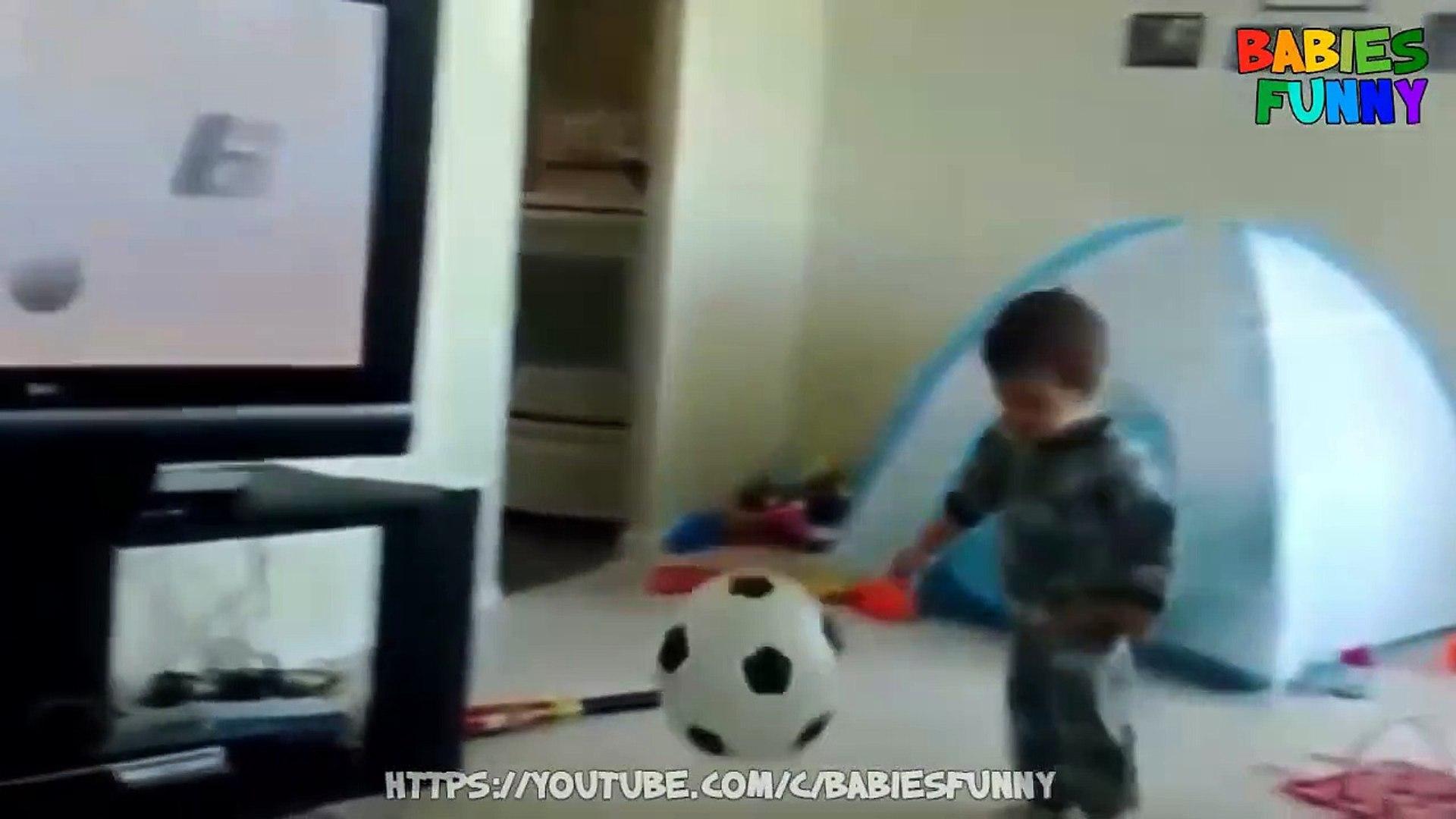 Funniest Kids Playing Football - Funny Kids Vid
