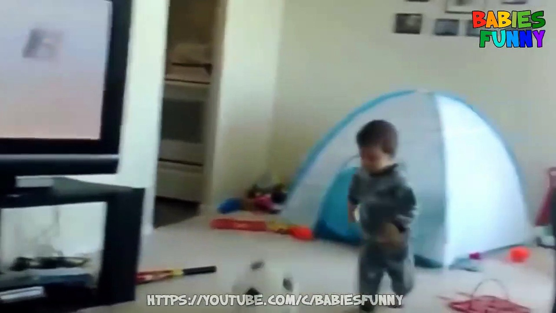 Funniest Kids Playing Football - Funny Kids Videos