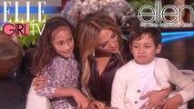 JLO et ses enfants   The Ellen DeGeneres Show   Du Lundi à Vendredi à 20h10   Talk Show