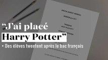 """""""J'ai placé Harry Potter dans la dissert'"""" : les élèves tweetent après le bac français"""