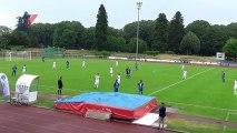 Finale Coupe de Lorraine : ES Thaon 1/0 FC Lunéville, mi-temps1