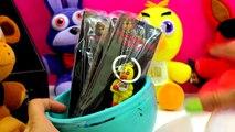 Five Nights At Freddys Plush Surprise Playdoh Egg 3 FNAF Blind Bag Box