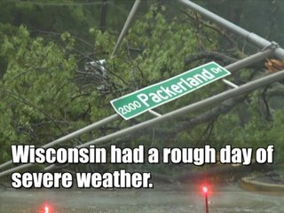 Wisconsin Severe Weather Damages — June 2017