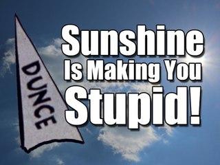 Sunshine Is Making You Stupid