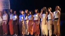 Israeli air force girls dancing at graduation party (Israeli female soldiers dancing israel dance)