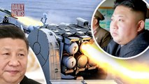 China fires missile near North Korea border in terrifying WW3 threat - DAILY NEW