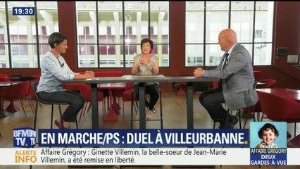 Villeurbanne : débat Najat Vallaud-Belkacem - Bruno Bonnell sur BFM