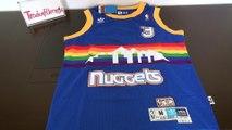 Denver Nuggets #3 Allen Iverson hardwood classic jersey