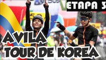 Etapa 3 Tour de Korea 2017 || Ultims 10 km - Edwin Avila Colombiano entre los 3 mejores