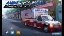 Androïde porter secours simulateur Ambulance 16 gameplay hd