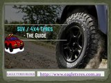 Why should you choose all terrain 4x4 tyres / suv tyres?