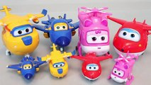 Super Wings 슈퍼윙스 기지와 로보카폴리 장난감 Robocar Poli and Superwings base toys